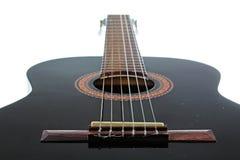Artsy POV-bakgrund för gitarr Musikillustration Fotografering för Bildbyråer