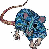Artsy Rat Stock Photography