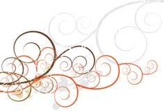 Artsy Swirls Stock Images