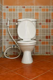 Żartuje łazienkę zdjęcie royalty free