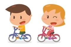 Żartuje aktywność rower Obraz Stock