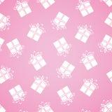 Żartuje bezszwowego wzór. Różowy Background* Zdjęcie Stock