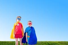 Żartuje superheros obrazy royalty free