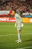 Artur Boruc Goalkeeper royalty-vrije stock afbeeldingen
