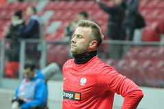 Artur Boruc Royalty Free Stock Photography