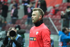 Artur Boruc Stock Photography