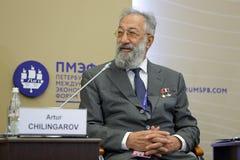 Artur Chilingarov Stock Photo