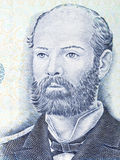 Arturo Prat Chacon portrait Royalty Free Stock Photos