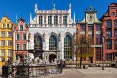 Artus Court en Gdansk Fotografía de archivo libre de regalías