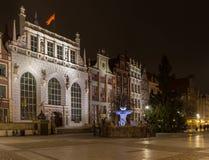 Artus Court in Gdansk Stockfotos