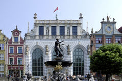 Artus Court of Gdansk in Poland Royalty Free Stock Photo