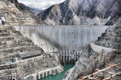 Artvin profondo della diga della Turchia fotografie stock