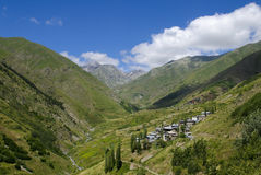 Artvin Village Stock Photo