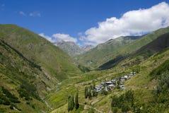 Artvin Village. Green in the Black Sea, the mountains of Artvin Stock Photo