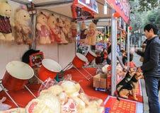 Artwares in lantern show in chengdu,china Stock Photo