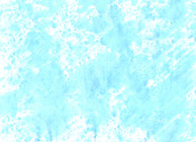 Artwork artistic handmade aguacolor  background .  Cute handcraf. Ted  illustration in blue colors  for  design  posters banners, postcards, brochure, cards Royalty Free Stock Photos