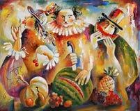 artwork Autor da refeição: Nikolay Sivenkov Foto de Stock Royalty Free
