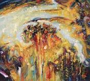 artwork Autumn Rhapsody Autor: Nikolay Sivenkov Fotografia de Stock