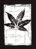 Artwork black and white Stock Image