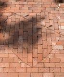 Heart in the bricks Royalty Free Stock Photo