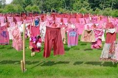 Artwork The Circle Of Clothing by Pet van de Luijtgaarden. Stock Photography