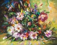 artwork Flores Autor: Nikolay Sivenkov Foto de Stock Royalty Free