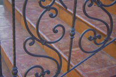 Artwork Iron Fence Royalty Free Stock Photo