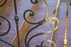 Artwork Iron Fence Stock Photography