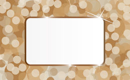 Artwork label. Abstract label  in artwork by illustration Royalty Free Stock Image