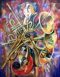 artwork Música Autor: Nikolay Sivenkov Imagem de Stock Royalty Free