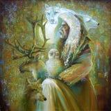 Artwork. Master Of The Tundra. Author: Nikolay Sivenkov. Stock Photo