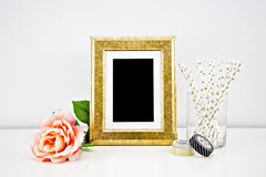 Artwork Mockup for prints Royalty Free Stock Photo