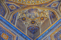 Artwork in mosque Royalty Free Stock Photos