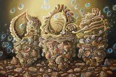 artwork Opus do mar Autor: Nikolay Sivenkov ilustração royalty free