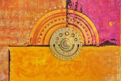 Artwork oriental Royalty Free Stock Image