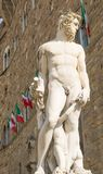 The artwork in the Piazza della Signoria in Florence Royalty Free Stock Photography