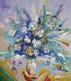 artwork Ramalhete de rosas da manhã Autor: Nikolay Sivenkov ilustração do vetor