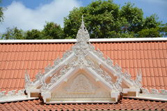 The artwork on the roof Royalty Free Stock Images