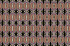 Artwork. Textile pattern in a Venetian style by the use of golden tones Stock Photography