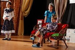 Królewiątko na kanapie, scotish ballady Obraz Royalty Free