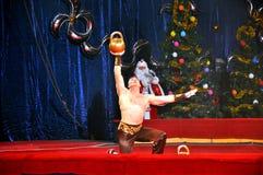 Artyści Yuri Nikulin Moskwa cyrk Fotografia Royalty Free