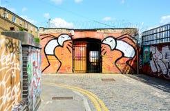 Arty grafiti Stockfoto
