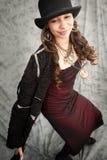 Arty-Mädchen stockfoto