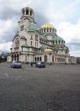 Artykuł wstępny Aleksander Nevsky Katedralny Sofia Bułgaria obrazy royalty free