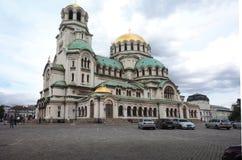Artykuł wstępny Aleksander Nevsky Katedralny Sofia Bułgaria zdjęcia stock