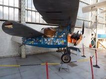 Artykuł wstępny Morane-Saulnier FS 230 historyczny, antykwarski wojownik Zdjęcia Stock