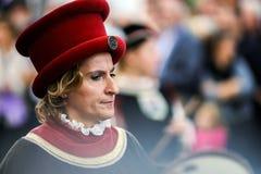 Artykuł wstępny, 4 2015 Październik: Barr, Francja: Fety des Vendanges Zdjęcie Royalty Free