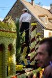 Artykuł wstępny, 4 2015 Październik: Barr, Francja: Fety des Vendanges Fotografia Stock