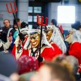 Artykuł wstępny, 14st 2016 Luty: Selestat, Francja: Karnawał i norma Fotografia Royalty Free