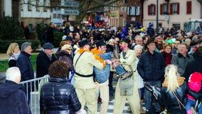 Artykuł wstępny, 14st 2016 Luty: Selestat, Francja: Karnawał i norma Zdjęcia Royalty Free
